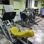Горка, тренажерный зал ENERGYM