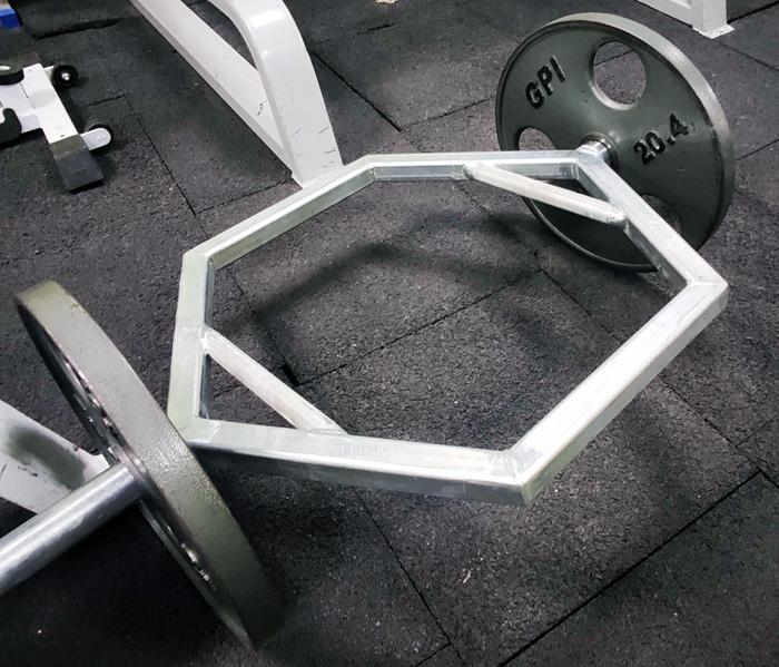 Трэп-гриф, тренажерный зал Energym